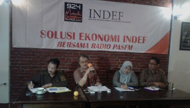 INDEF: Tim Ekonomi Presiden Jokowi Memang Lemah