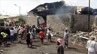 Serangan Roket Pemberontak Syi'ah Houtsi di Pasar Saada Tewaskan 10 Warga Sipil Yaman