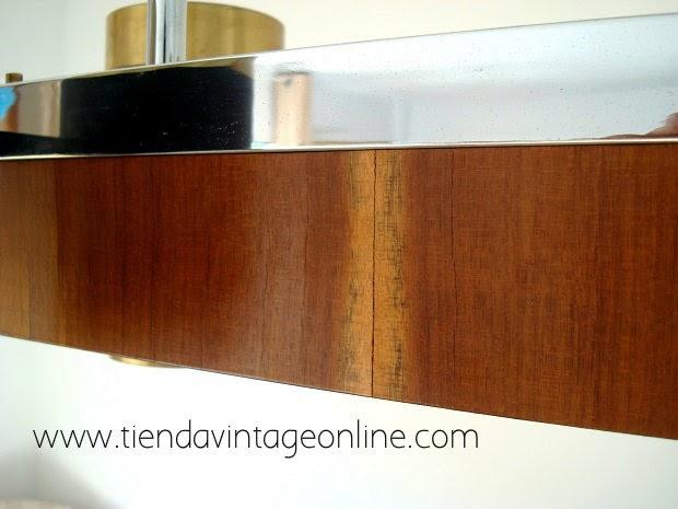 Comprar lampara original techo años 70 decorativa, llamativa vintage, antigua