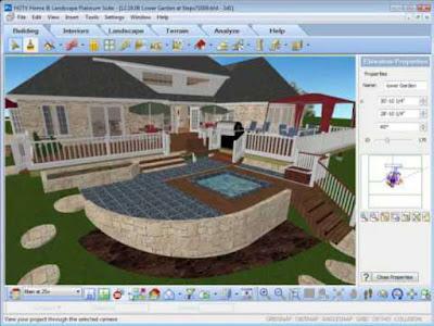 10 Software Desain Taman 3D Terbaik Untuk Membuat Outdoor Garden - Arafuru