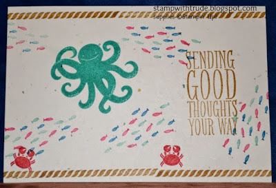 http://stampwithtrude.blogspot.com Stampin' Up! greeting card by Trude Thoman Sea Street stamp set