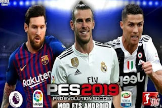 Download Pes 2019 Mod Fts Mobile Exclusive Mod Hd Graphics New Kits 1