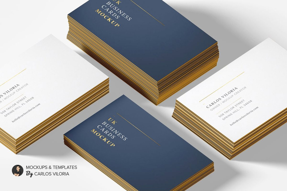 UK Business Cards Mockup 07 521717