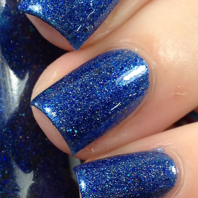 Sassy Pants Polish-Frozen Sapphire