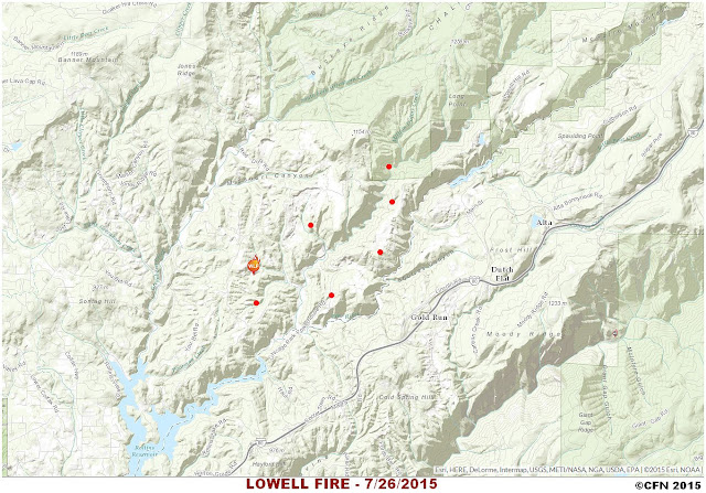 Lowell Fire Hotspot Map