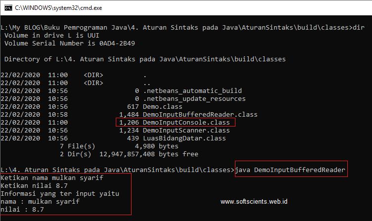 Buku Belajar Pemrograman Java untuk Pemula - Aturan Sintaks-Debugging-Standar Input Output Java