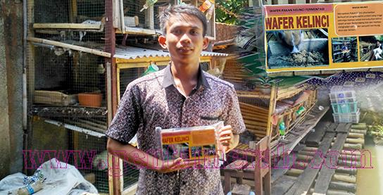 Pemuda Pesawaran Mampu Ciptakan Inovasi Pakan Kelinci Berkualitas