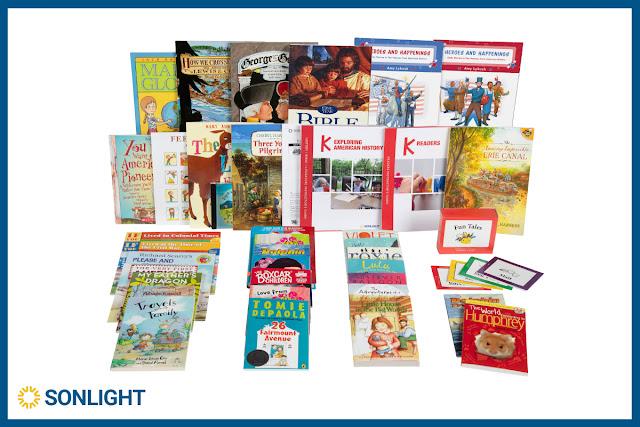 Sonlight Exploring America: History/Bible/Literature Kindergarten