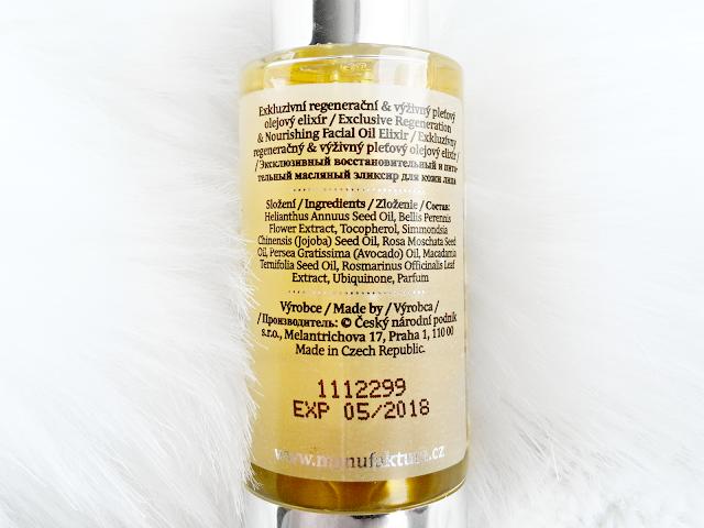 Manufaktura Pleťový olejový elixír
