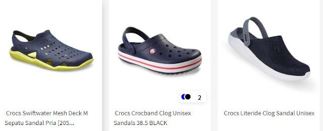 Pilihan Sandal Crocs