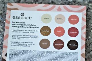Review: Essence Lidschattenpalette - Love what you do! - www.annitschkasblog.de