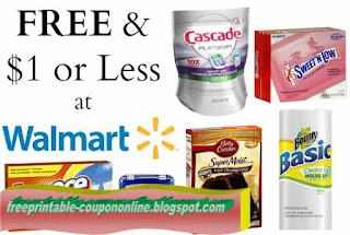 Free Printable Walmart Coupons