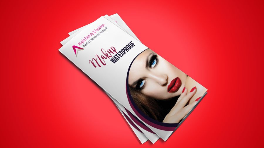 hello everyone today we will design a tri fold brochure for fashion beauty in adobe photoshop from this tutorial you will learn to make two fold