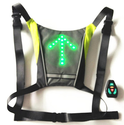 Clever Gadgets to Stay Visible In The Dark - Bikeman Activity Vest