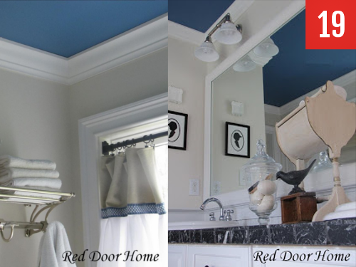 Accent ceilings to add new accent walls
