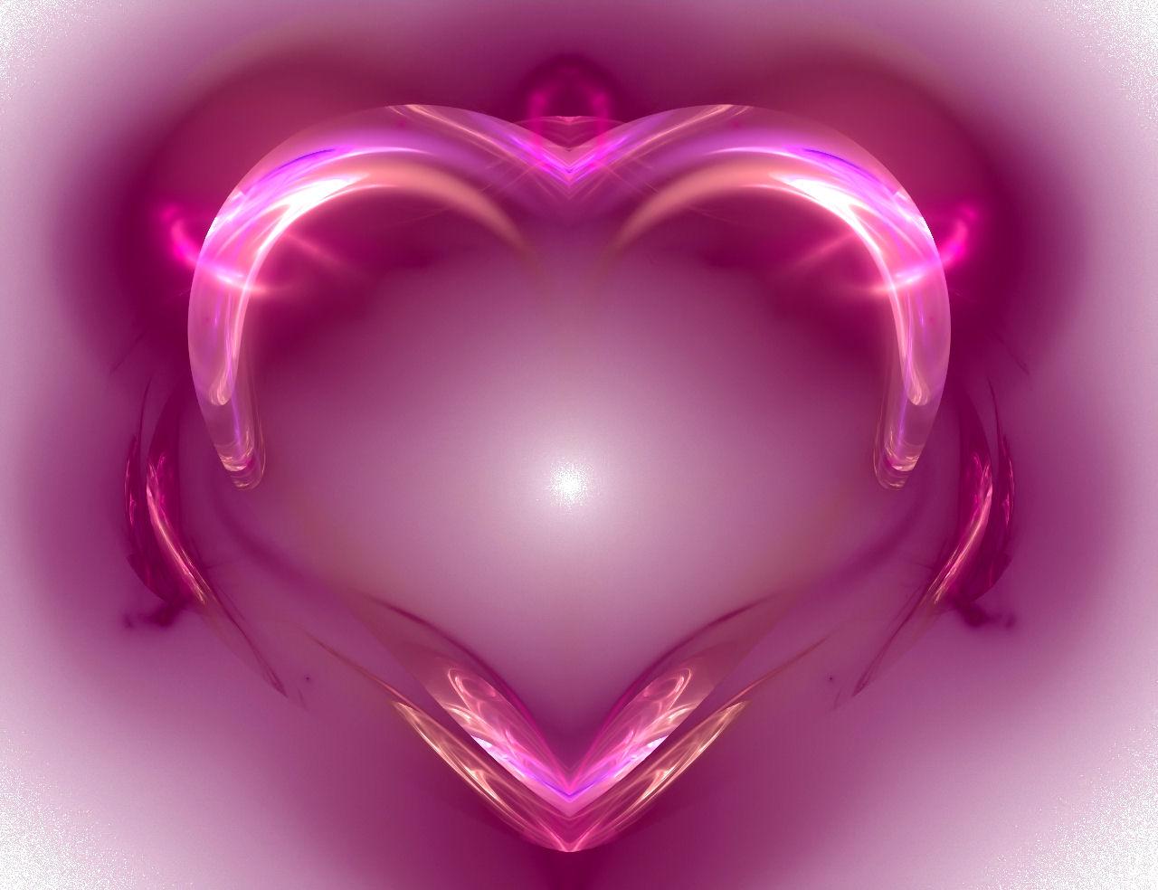 Pink Abstract Heart Wallpaper | Pink Wallpaper Backgrounds