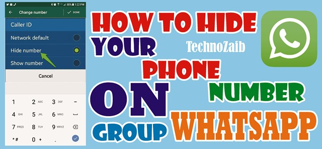 How to hide your phone number on WhatsApp group