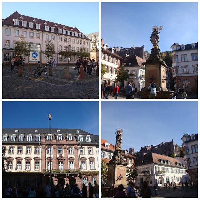 Kornmarkt em Heidelberg