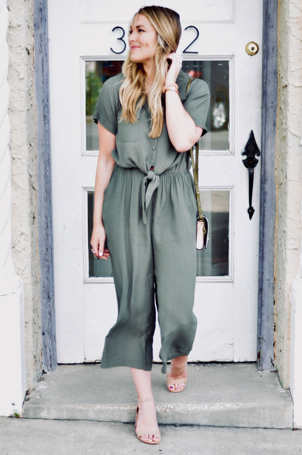 casual jumpsuit look