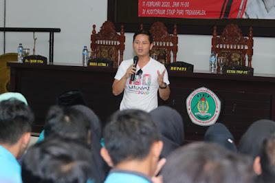 Beri Kuliah Umum, Bupati Nur Arifin Berbagi Pengalaman Penanganan Kemiskinan