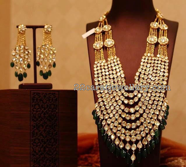 Nine Layers Kundan Polki Long Chain