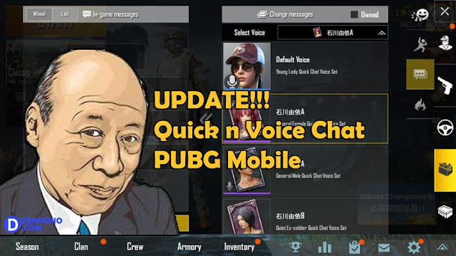 Voice Chat Terbaru PUBG Mobile Versi Akira Otsuka