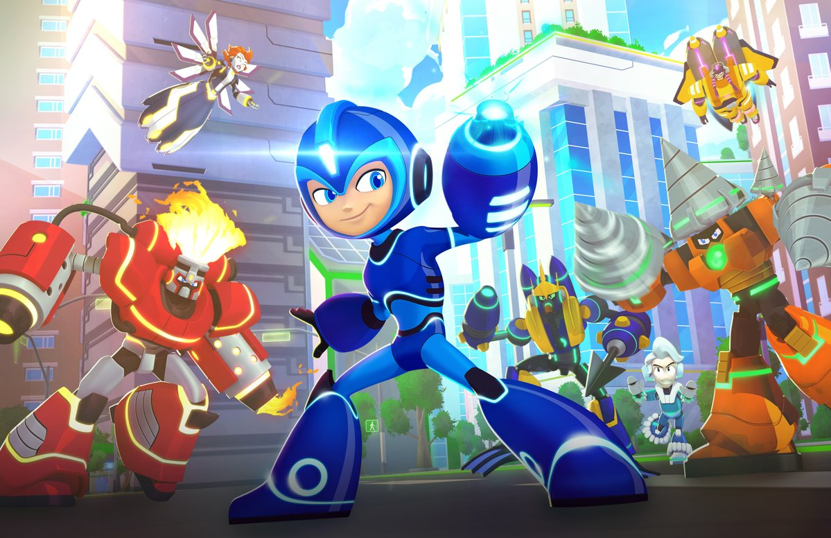 Rockman Corner: Official Mega Man: Fully Charged Character Profiles