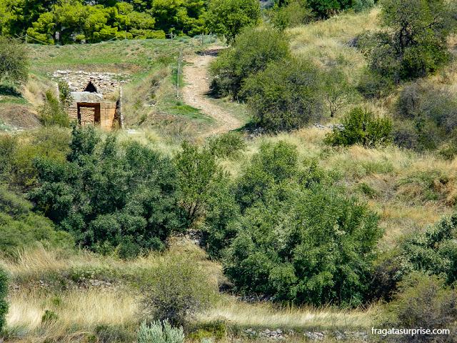 Portão Norte, acesso à cidadela de Micenas, Grécia
