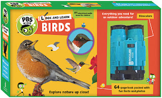 PBS Kids: Look and Learn Birds by Sarah Parvis - Review