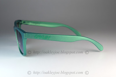3d118436c9 ... gamma green + prizm jade iridium 195 lens pre coated with Oakley  hydrophobic nano solution complete ...