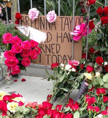 Breonna Taylor L.A. memorial June 2020