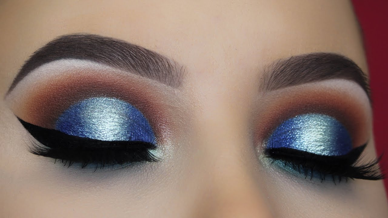 Blue Eye shadow and makeup Ideas