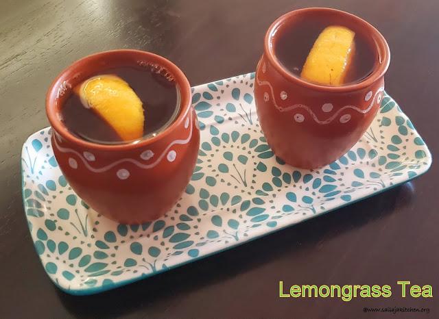 images of Lemongrass Tea / Fresh Lemongrass Tea / easy Lemongrass Tea