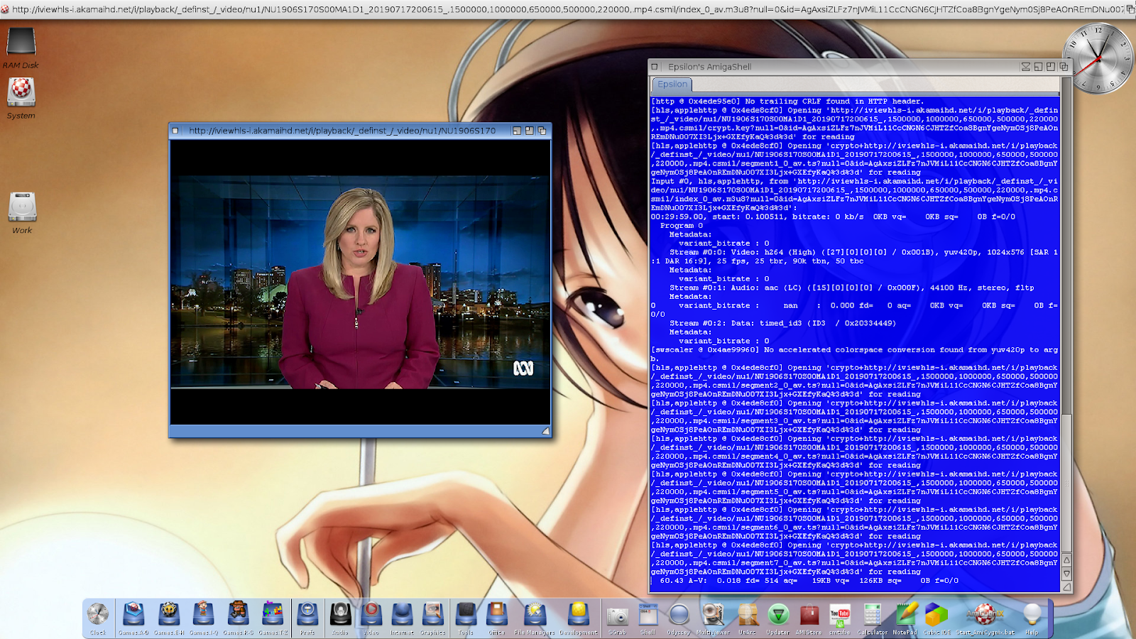 ABC iView TV streaming and downloading preview on X5000 | AmigaBlogs