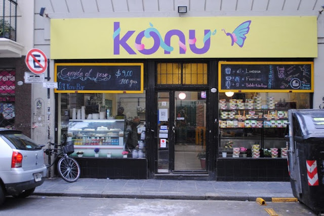 Restaurante vegano Konu Bar