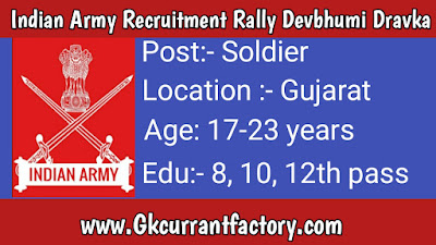 Indian Army Recruitment Rally Devbhumi Dravka