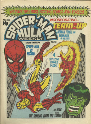 Spider-Man and Hulk Weekly with Team-Up #418