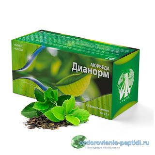 Дианорм - чай для нормализации работы желудка, 12 - перстной кишки и поджелудочной железы