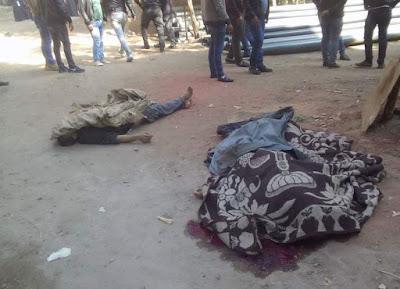 مفاجأة.. شاهد عيان: منفذ مذبحة أوسيم على خلق ولا يتعاطى المخدرات (فيديو)