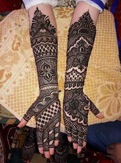 Arabic Mehndi Design Bridal
