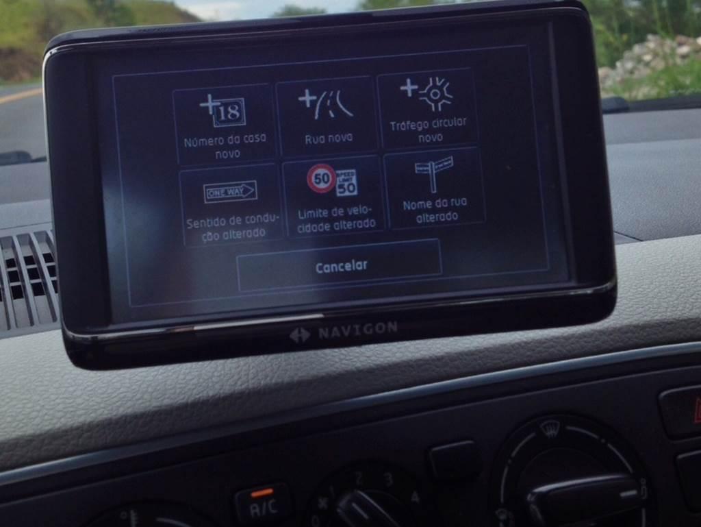 volkswagen up usabilidade do gps do maps and more car. Black Bedroom Furniture Sets. Home Design Ideas