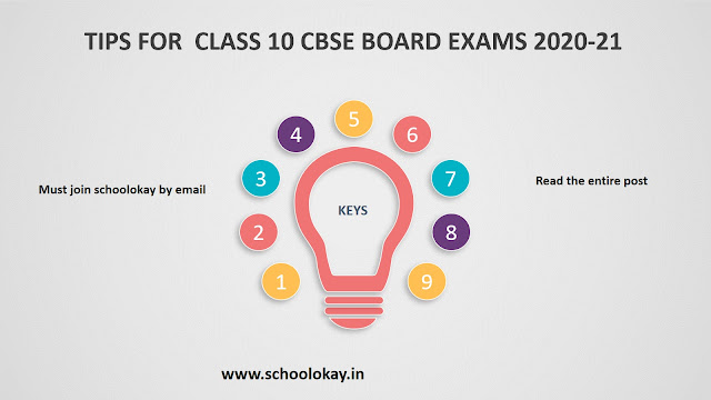 TIPS FOR CBSE BOARD EXAMS 2020-21