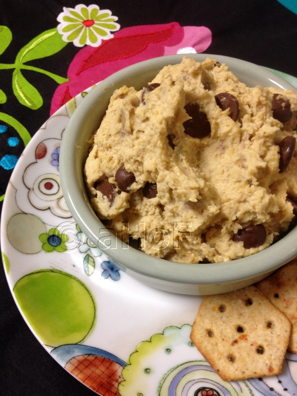 Healthier Chocolate Chip Cookie Dough