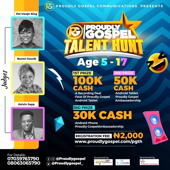 Proudly Gospel Kick Starts Talent Hunt, Apply Now!