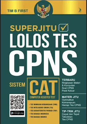Ebook Superjitu Lolos Tes CPNS Sistem CAT