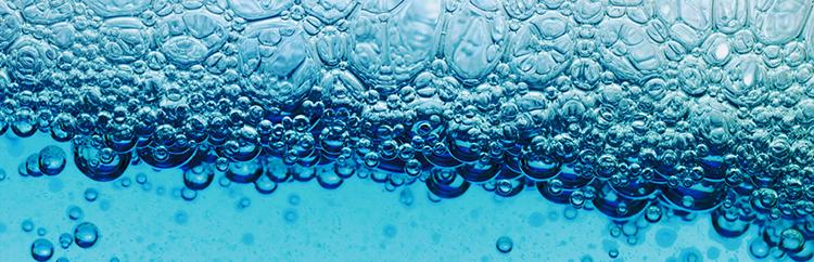 La espuma es una de las características de los tensoactivos