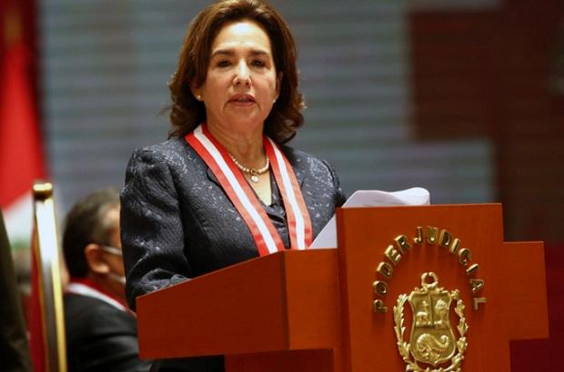 Elvia Barrios es la primera presidenta del Poder Judicial