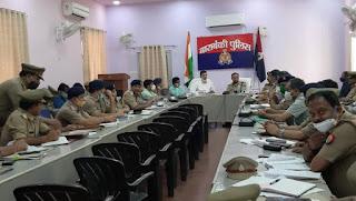 बाराबंकी : पुलिस लाइन सभागार में सैनिक सम्मेलन कर सुनी गई समस्याएं
