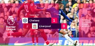 Chelsea Unggul 1-0 atas Liverpool di Babak Pertama
