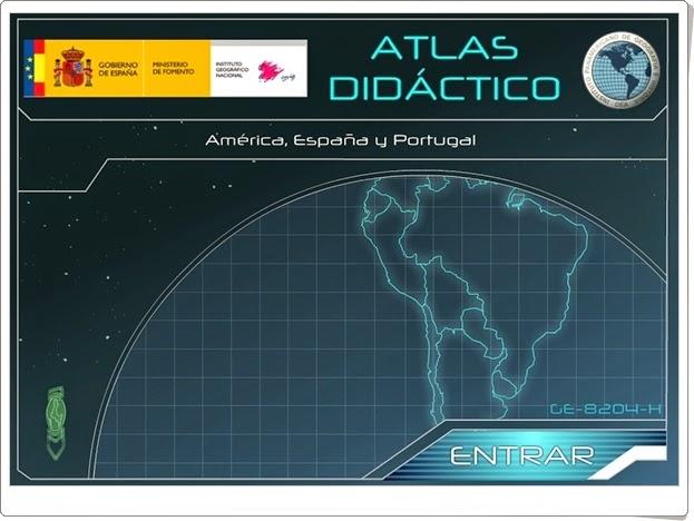 """""""Atlas Didáctico de América, España y Portugal"""""""